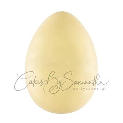 Αυγό Λευκής Σοκολάτας 330γρ  ΜΟΝΟ ΓΙΑ ΠΑΡΑΛΑΒΗ ΑΠΟ ΤΟ ΚΑΤΑΣΤΗΜΑ