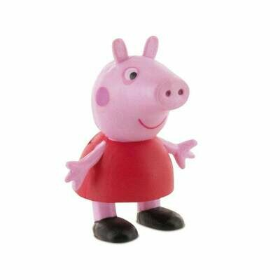 Figure Cake Topper -PEPPA PIG 6εκ - Τόπερ Φιγούρα ΠΕΠΠΑ ΤΟ ΓΟΥΡΟΥΝΑΚΙ