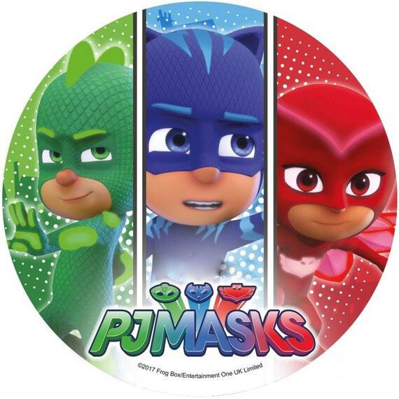 #Βρώσιμη εκτύπωση -PJ MASKS #3     21εκ