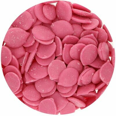 FunCakes Deco Melts ΜΕ ΓΕΥΣΗ ΒΑΤΟΜΟΥΡΟ 250γρ Raspberry Flavour