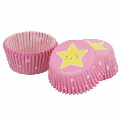 ALLC Cupcake Cases -TWINKLE STAR -Θήκες Ψησίματος Αστέρι 50 τεμ ∞