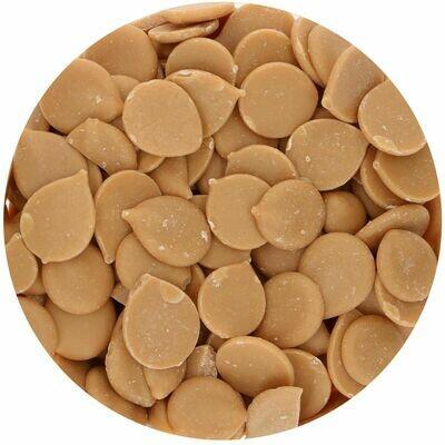 FunCakes Deco Melts ΜΕ ΓΕΥΣΗ ΚΑΡΑΜΕΛΑ TOFFEE 250γρ Caramel Flavour