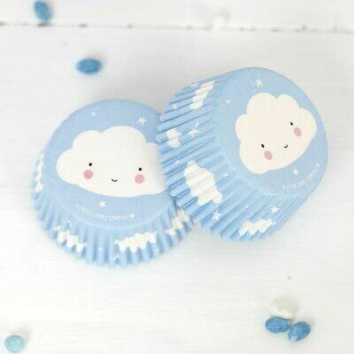 ALLC Cupcake Cases -CLOUD -Θήκες Ψησίματος Σύννεφα 50 τεμ ∞
