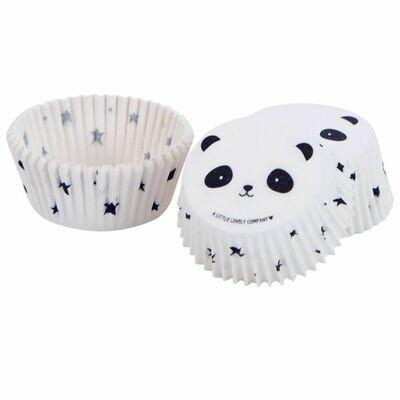 ALLC Cupcake Cases -PANDA -Θήκες Ψησίματος Πάντα 50 τεμ ∞