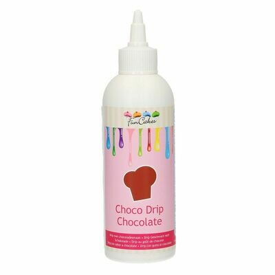 FunCakes Choco Drip -CHOCOLATE 180g - Drip σοκολάτας