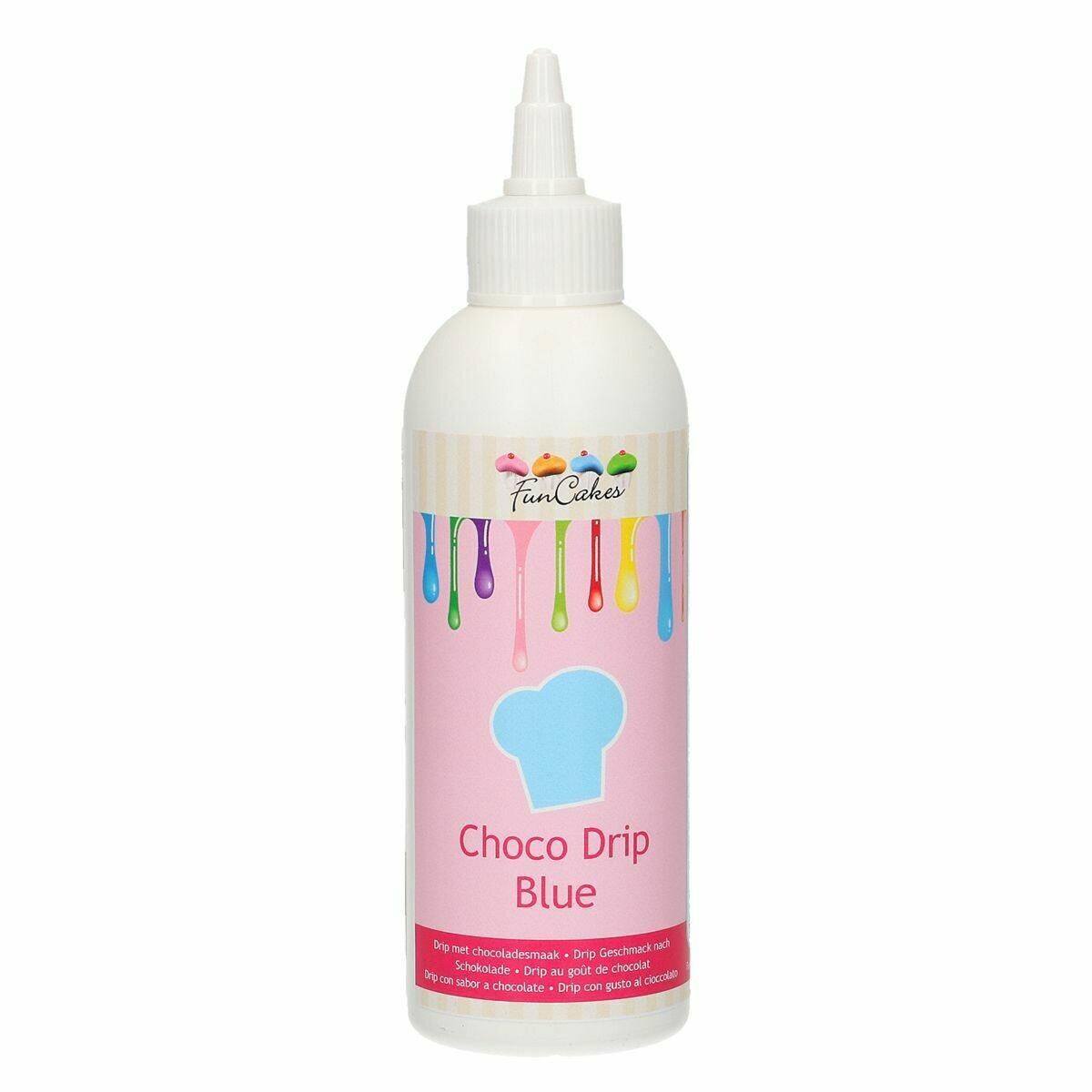 FunCakes Choco Drip -BLUE 180g - Drip σοκολάτας Μπλε