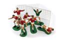 SALE!!! By AH Toppers -Plastic Soccer/Football Set -RED -Πλαστικά Τόπερ με Θέμα Ποδόσφαιρο -Κόκκινο 9 τεμ