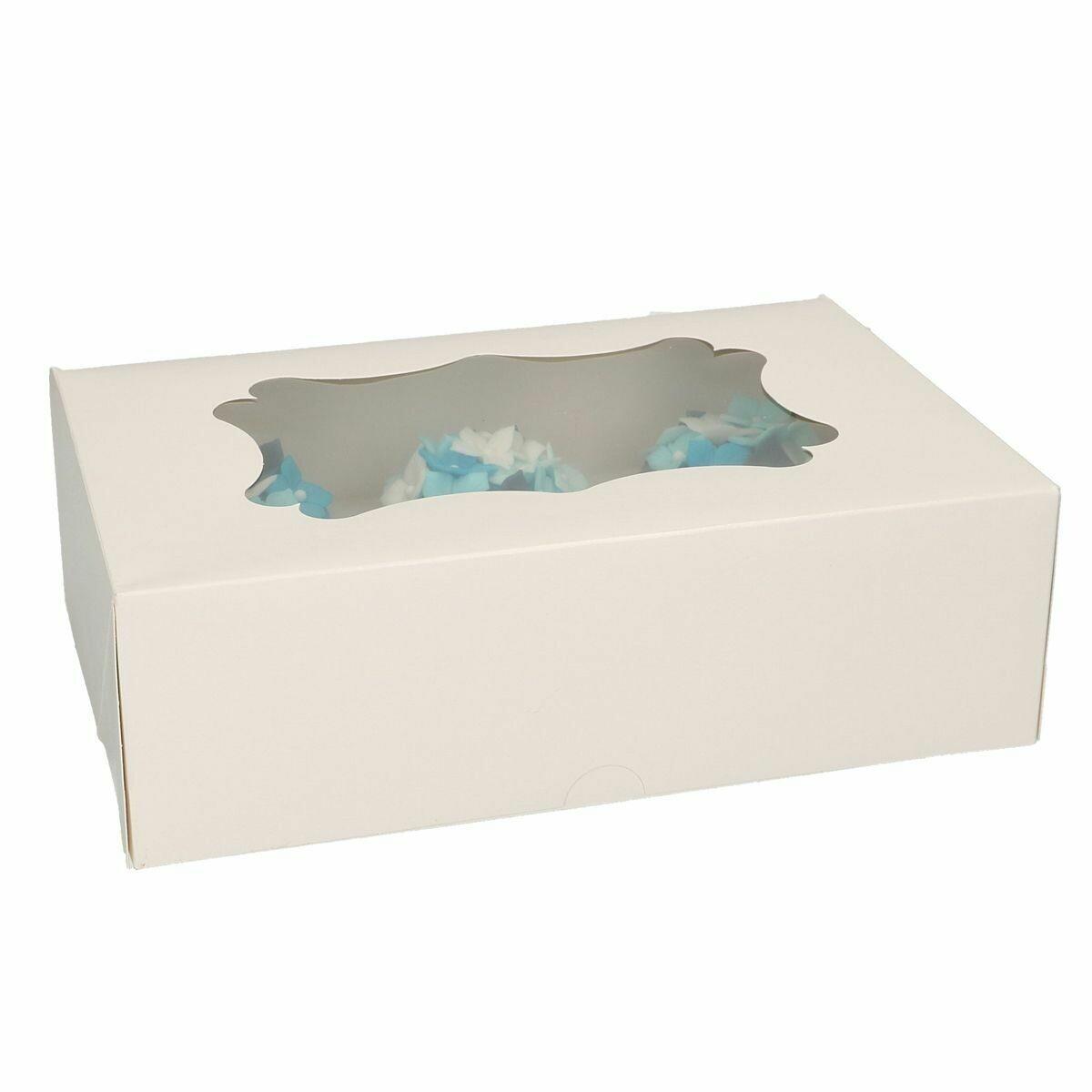 Box for 6 Cupcakes -Κουτί για 6 Καπκέϊκς