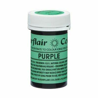 Sugarflair NatraDi Natural Paste Colours -PURPLE 25g - Φυσικό Χρώμα σε Πάστα Μωβ