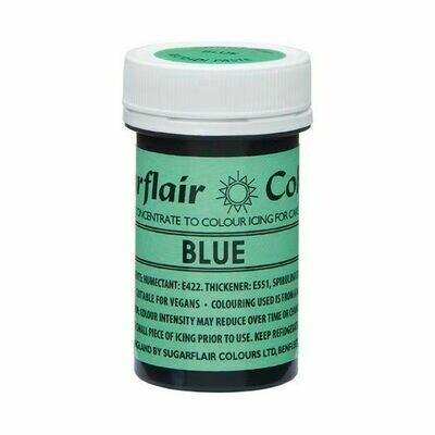 SALE!!! Sugarflair NatraDi Natural Paste Colours -BLUE 25g - Φυσικό Χρώμα σε Πάστα Μπλε ΑΝΑΛΩΣΗ ΚΑΤΑ ΠΡΟΤΙΜΗΣΗ 06/21