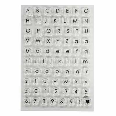 SALE!!! impressit™ SMALL Alphabet & Numbers - Αλφάβητος & Νούμερα - Μικρά