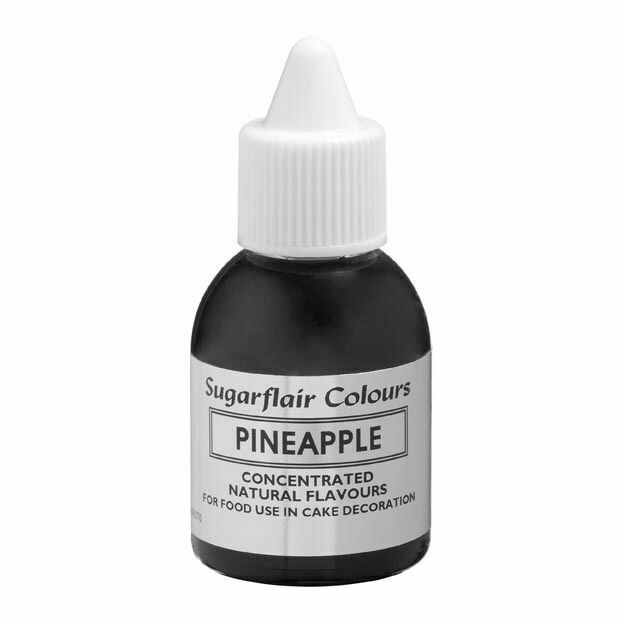 Sugarflair 100% Natural Flavour 30ml -PINEAPPLE - Φυσικό Άρωμα Ανανά 30ml