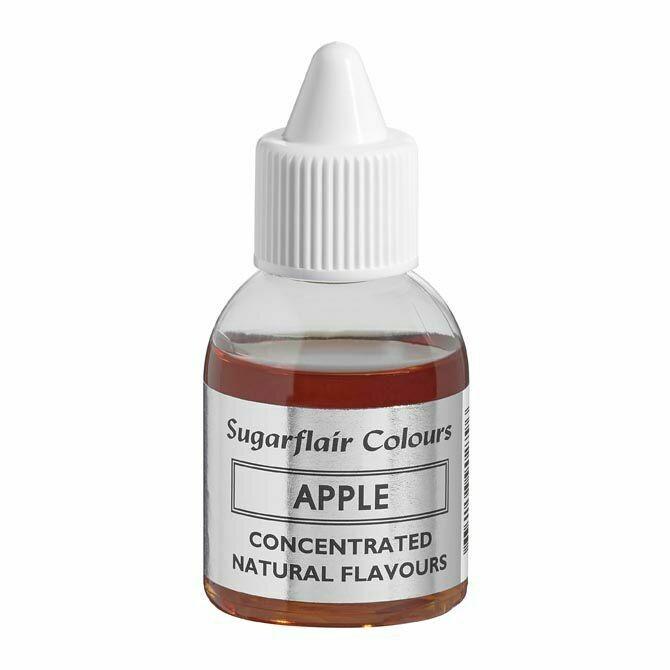 Sugarflair 100% Natural Flavour 30ml -APPLE - Φυσικό Άρωμα Μήλου 30ml