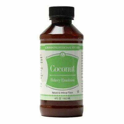 Lorann Bakery Emulsion -COCONUT -Γαλάκτωμα Ζαχαροπλαστικής Καρύδα 118ml