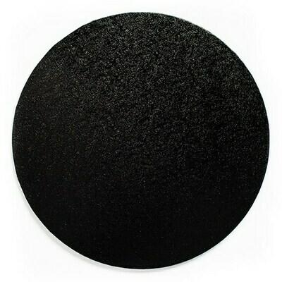 Cake Drum round -BLACK 25cm (10