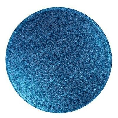 Cake Drum round -DARK BLUE 25cm (10