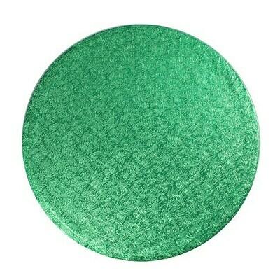 Cake Drum round -GREEN 25cm (10