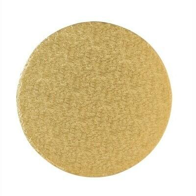 Cake Drum round -GOLD 25cm (10