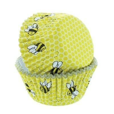 Baked With Love Baking Cases -HONEYCOMB & BEE - Θήκες ψησίματος 50 τεμ Κηρήθρα και Μέλισσα