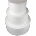 """Φελιζόλ Round Cake Dummy 13cm (5""""). (10cm high) -Στρογγυλό 13εκ."""