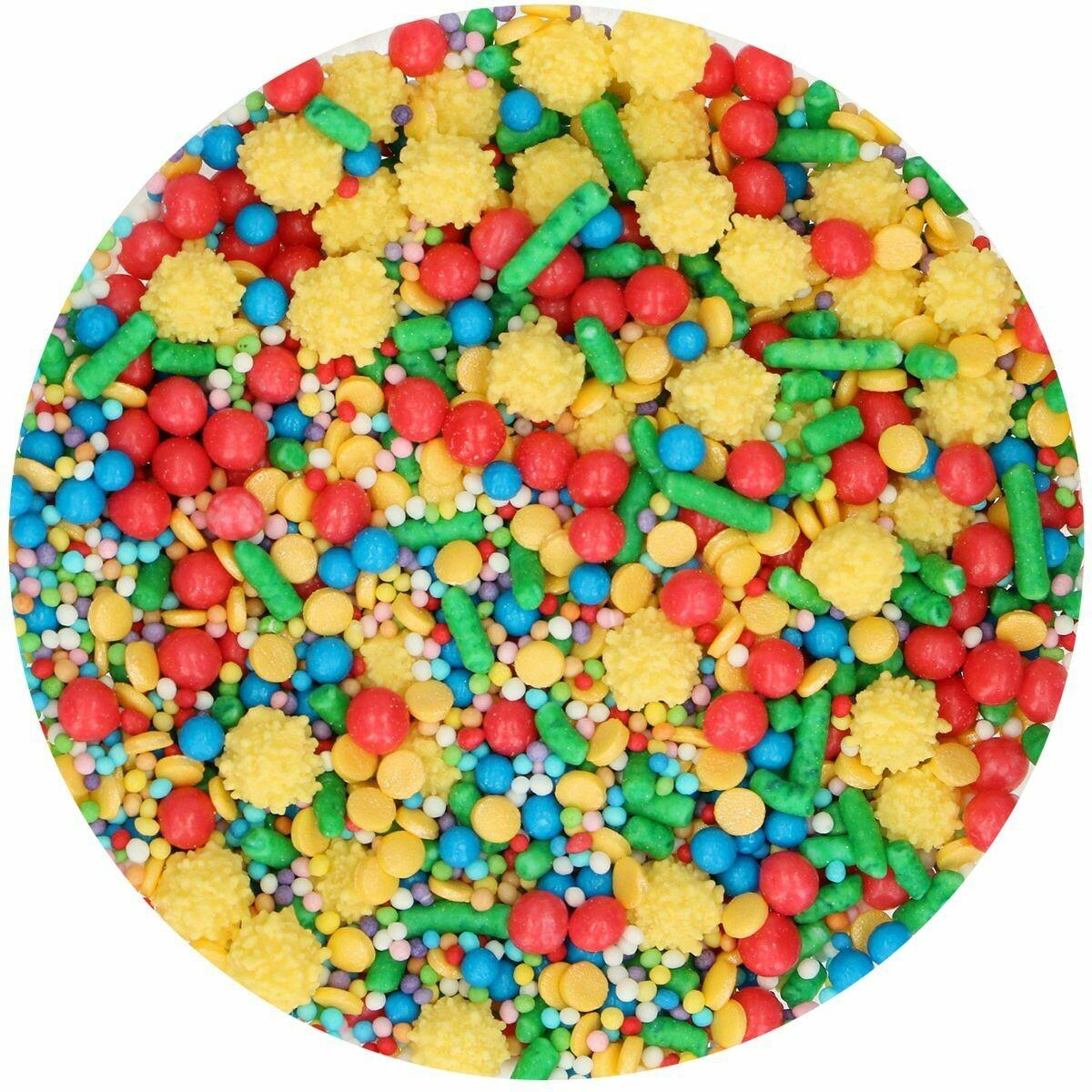 FunCakes Sprinkle Mix 65γρ -CIRCUS - Μείγμα  Ζαχαρωτών Τσίρκο