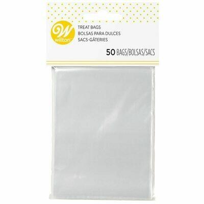 Wilton Lollipop Bags Clear 7.5x10εκ Τμχ 50 - Διάφανα Σακουλάκια για γλυκά 7.5εκ * 10εκ