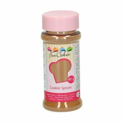 FunCakes Cookie Spice 40g - Μείγμα μπαχαρικών για μπισκότα