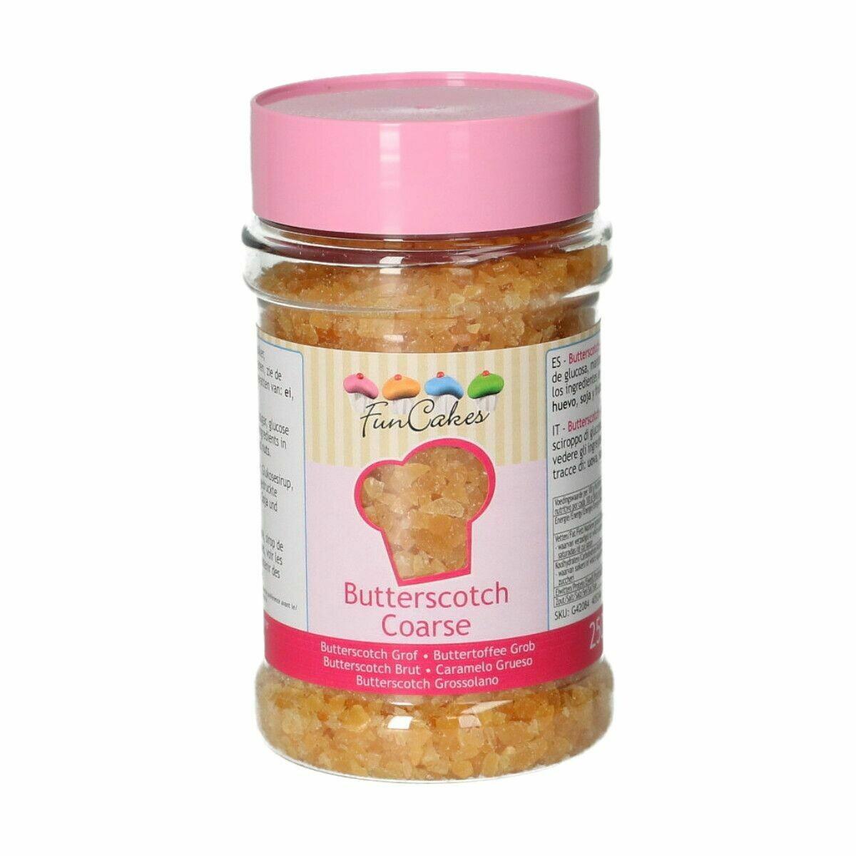 FunCakes Butterscotch COARSE 250g - Καραμέλα Βουτύρου σε τρίμμα