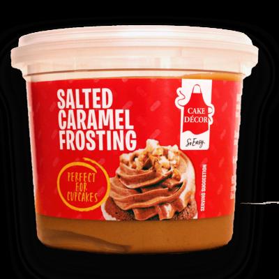 Cake Decor Ready-To-Use Frosting -SALTED CARAMEL Έτοιμο frosting με γεύση Αλατισμένη Καραμέλα 400γρ