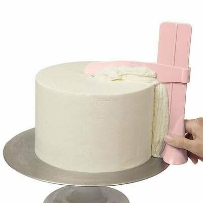 The Pro Froster Adjustable Cake Scraper - Εργαλείο για αιχμηρές άκρες και πλευρές.