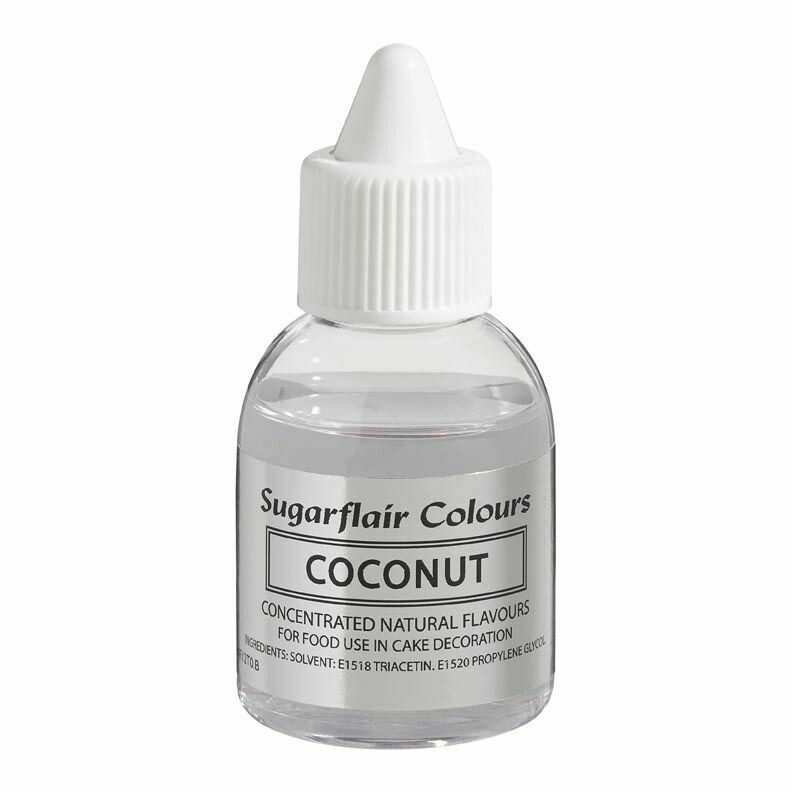 Sugarflair 100% Natural Flavour 30ml -COCONUT - Φυσικό Άρωμα Καρύδας 30ml