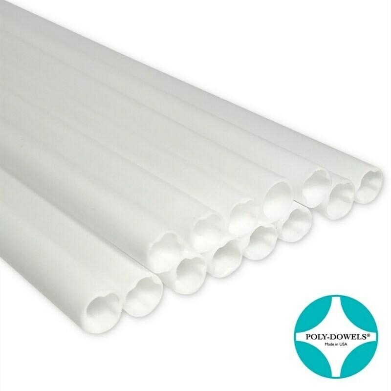 Extra Strong Poly-Dowels® 16'' Πλαστικός Πείρος/Κολώνα 40εκ