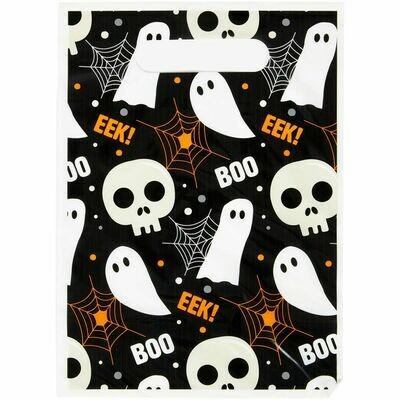 Wilton Halloween Treat Bags -'BOO'! 'EEK' 12τεμ - Σακουλάκια για γλυκά με θέμα το Halloween