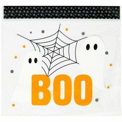 Wilton Halloween Treat Bags 'BOO!'   20τεμ - Σακουλάκια για γλυκά με θέμα το Halloween