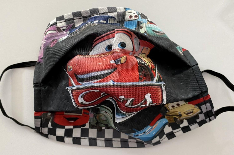 Μάσκα Παιδική  Αυτοκινητάκια Μακουιν
