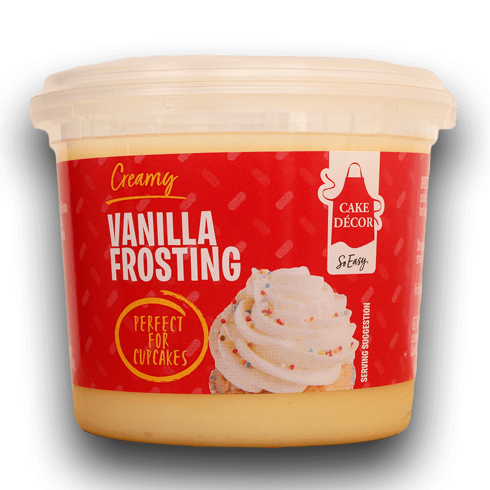 Cake Decor Ready-To-Use Frosting -VANILLA Έτοιμο frosting με γεύση Βανίλια 400γρ