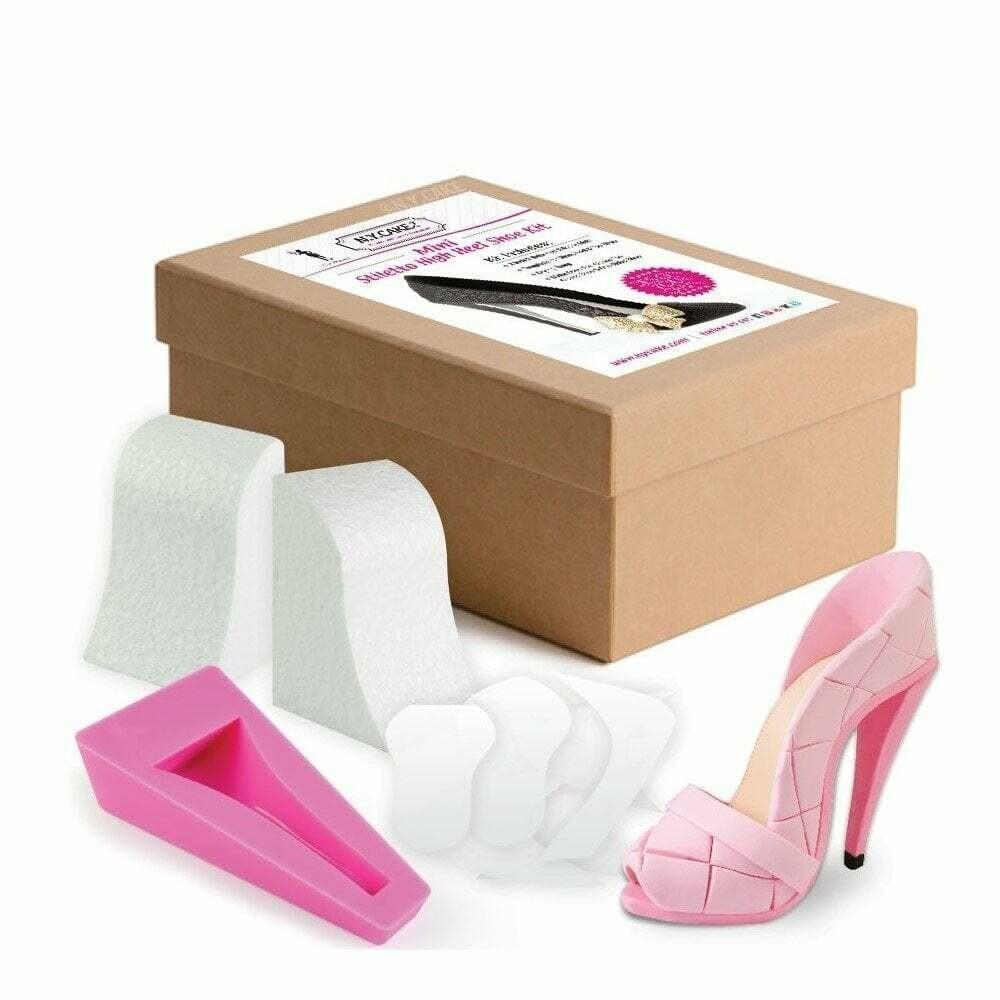 NY Cake MINI Stiletto High Heel Shoe Kit By Lisa Mansour - Κιτ Κατασκευής ΜΙΚΡΗΣ Ψηλοτάκουνης Γόβας