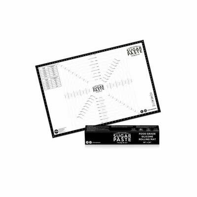 THE SUGAR PASTE™ LARGE Rolling Mat 90εκ * 60εκ - Αντικολλητική Επιφάνεια Εργασίας