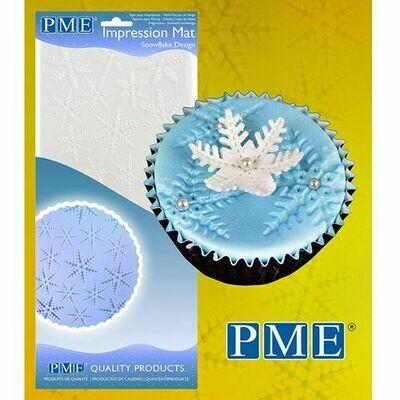 PME Impression Mat -SNOWFLAKE -Πατάκι Αποτύπωσης Σχεδίου Χιονονιφάδα