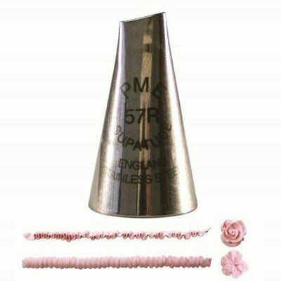 PME Nozzle -PETAL -MEDIUM for Right Handed -Μύτη Κορνέ για Μεσαίο Πέταλο για Δεξιόχειρες No.57R