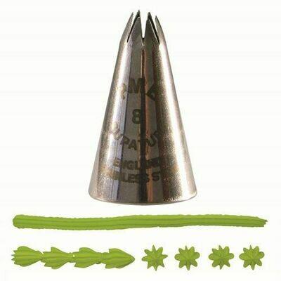 PME Nozzle -STAR -Μύτη Κορνέ για Αστέρι No.8
