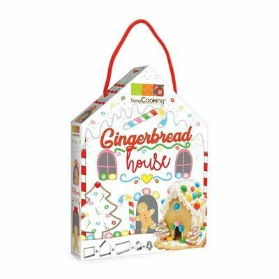 Scrapcooking Cookie Cutter Gingerbread House Set of 5 pieces - Σετ 5τεμ κουπ πατ για Μπισκοτόσπιτο