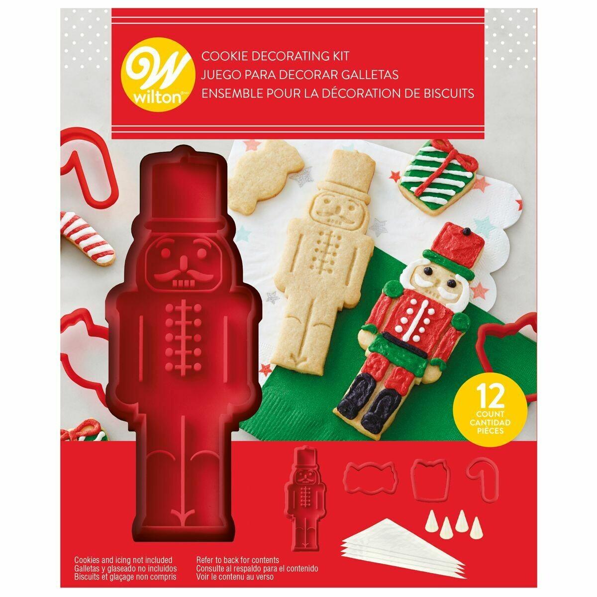 Wilton Christmas Cookie Stamp Kit 'NUTCRACKER' - Χριστουγεννιάτικο σετ κατασκευής Μπισκότων