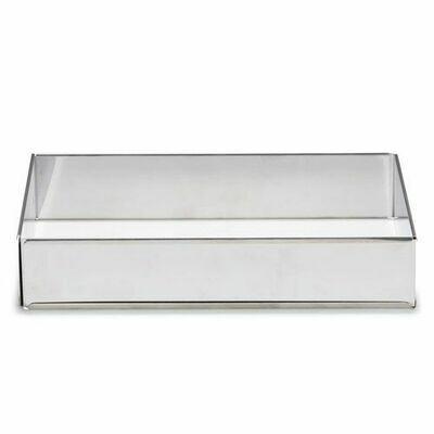Patisse Adjustable Baking Frame -RECTANGLE - Ανοξείδωτο Παραλληλόγραμμο Ρυθμιζόμενο Τσέρκι 25 έως 46εκ