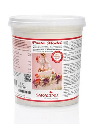 Saracino Modelling Paste 1 kilo -WHITE -Πάστα Μοντελισμού -Λευκή - 1 κιλό