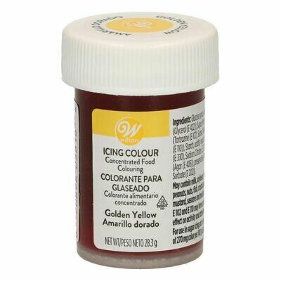 Wilton Icing Colour - GOLDEN YELLOW Χρώμα σε Πάστα Κίτρινο Χρυσό 28γρ