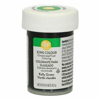 Wilton Icing Colour -KELLY GREEN Χρώμα σε Πάστα Πράσινο 'Kelly' 28γρ