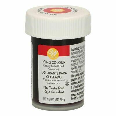 Wilton Icing Colour -NO-TASTE RED Χρώμα σε Πάστα Κόκκινο - άγευστο 28γρ