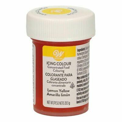 Wilton Icing Colour -LEMON YELLOW  Χρώμα σε Πάστα Κίτρινο του Λεμονιού 28γρ
