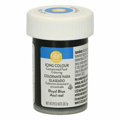 Wilton Icing Colour -ROYAL BLUE  Χρώμα σε Πάστα Βασιλικό Μπλε 28γρ